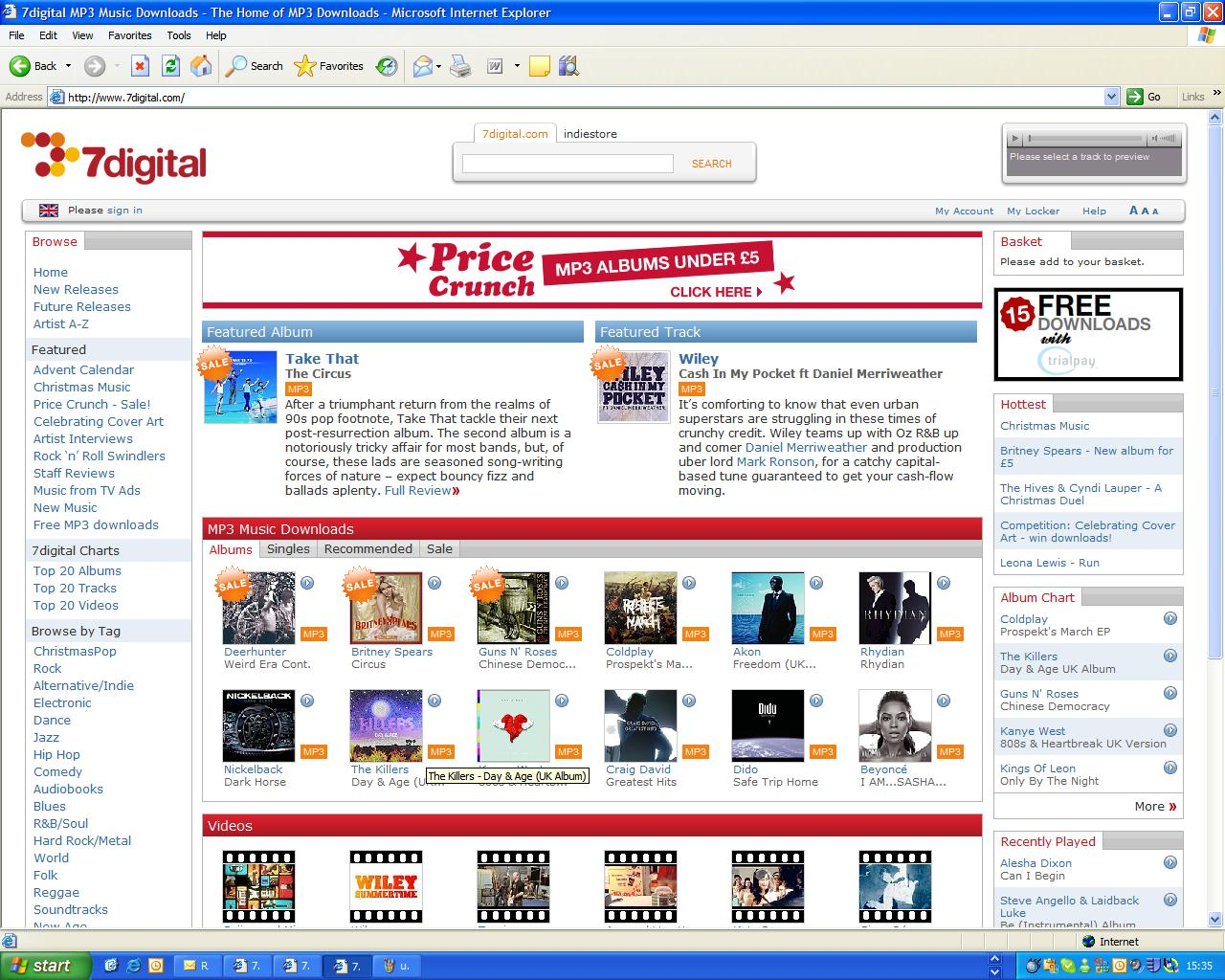 7digital beats Amazon MP3 on quality | TechRadar