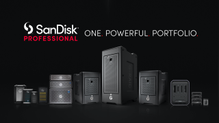 SanDisk Professional line debuts with new CFexpress, ArmorLock and dock storage