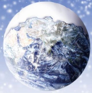 Snowball Earth Illustration