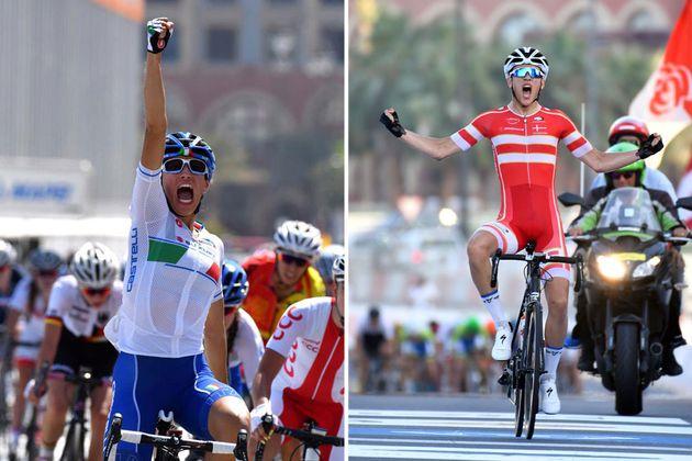 Elisa Balsamo and Jakob Egholm take junior road race titles, 2016 UCI Road World Championships