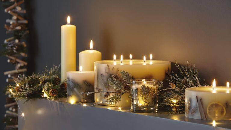 Dunelm Christmas Candles
