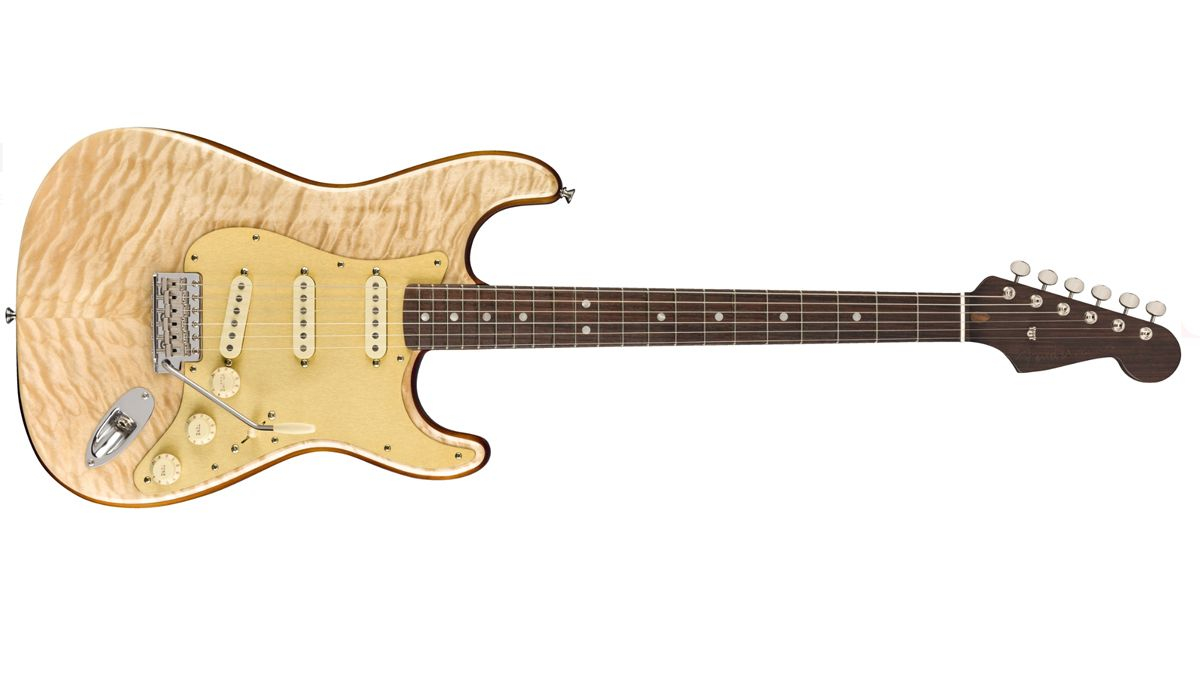 Fender's Quilt Maple Top Stratocaster is the latest luxury build from the Rarities series