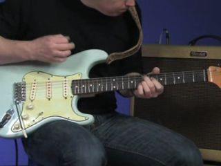 SRV used a Strat with heavy-gauge strings