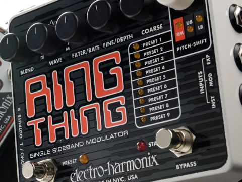 Ring modulation isn't exactly a mainstream effect in guitar culture.