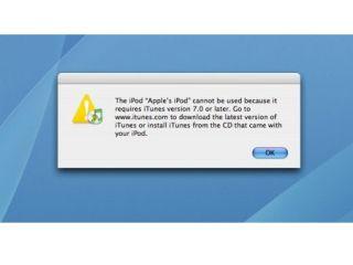London Apple store snubs iTunes 7 | TechRadar