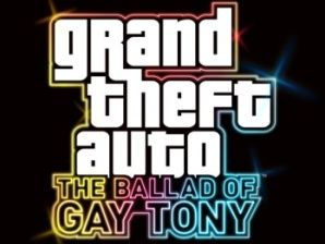 The Ballad Of Gay Tony. You know how I know you're gay? Your name sparkles