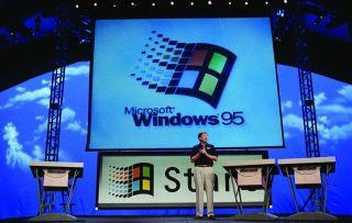A Windows 95 presentation