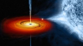 Black holes credit NASA CXC M Weiss