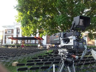 TNDV Used for Mobile Broadcast of University Graduations