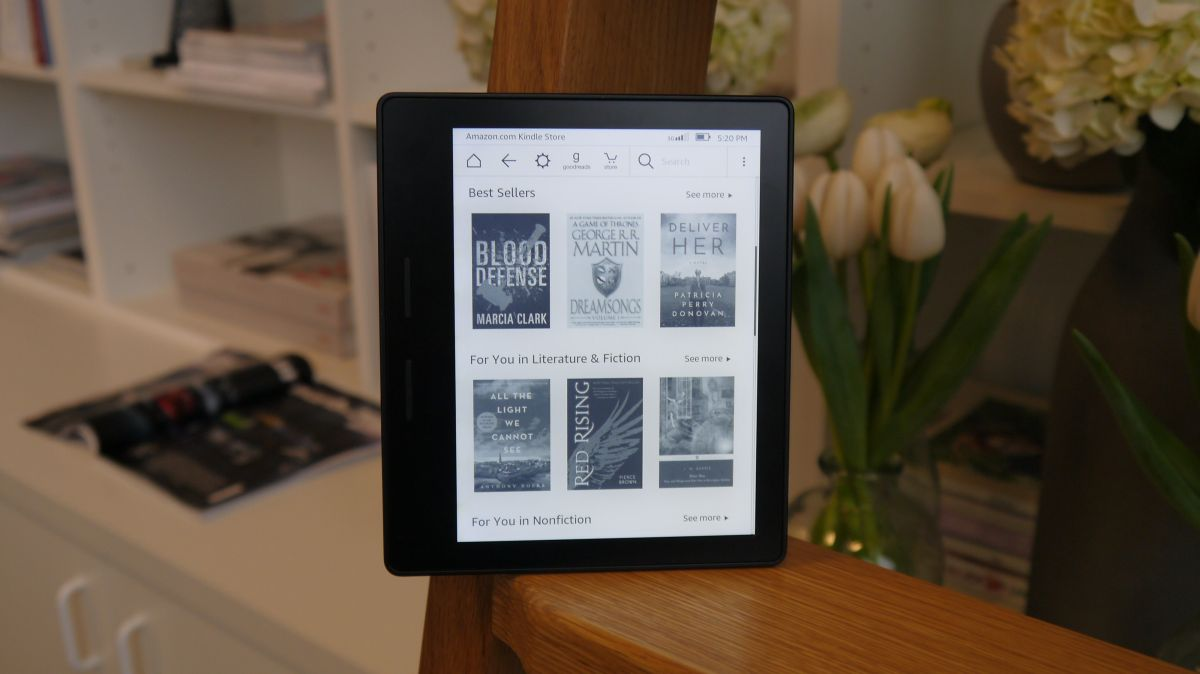 Amazon Kindle Oasis 2016 Review Techradar
