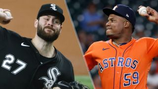 Lucas Giolito and Framber Valdez will pitch in the White Sox vs Astros live stream