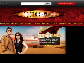 Dr Who website