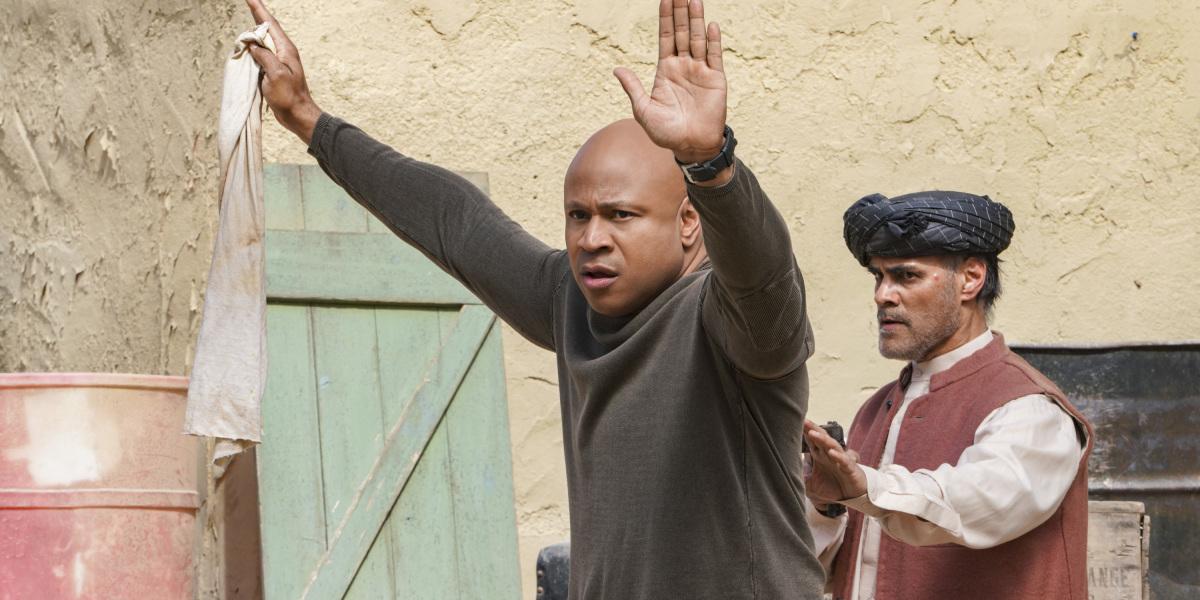 ncis: los angeles sam hands up