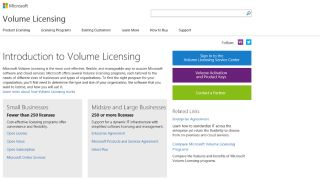 Businesses might need a volume licence