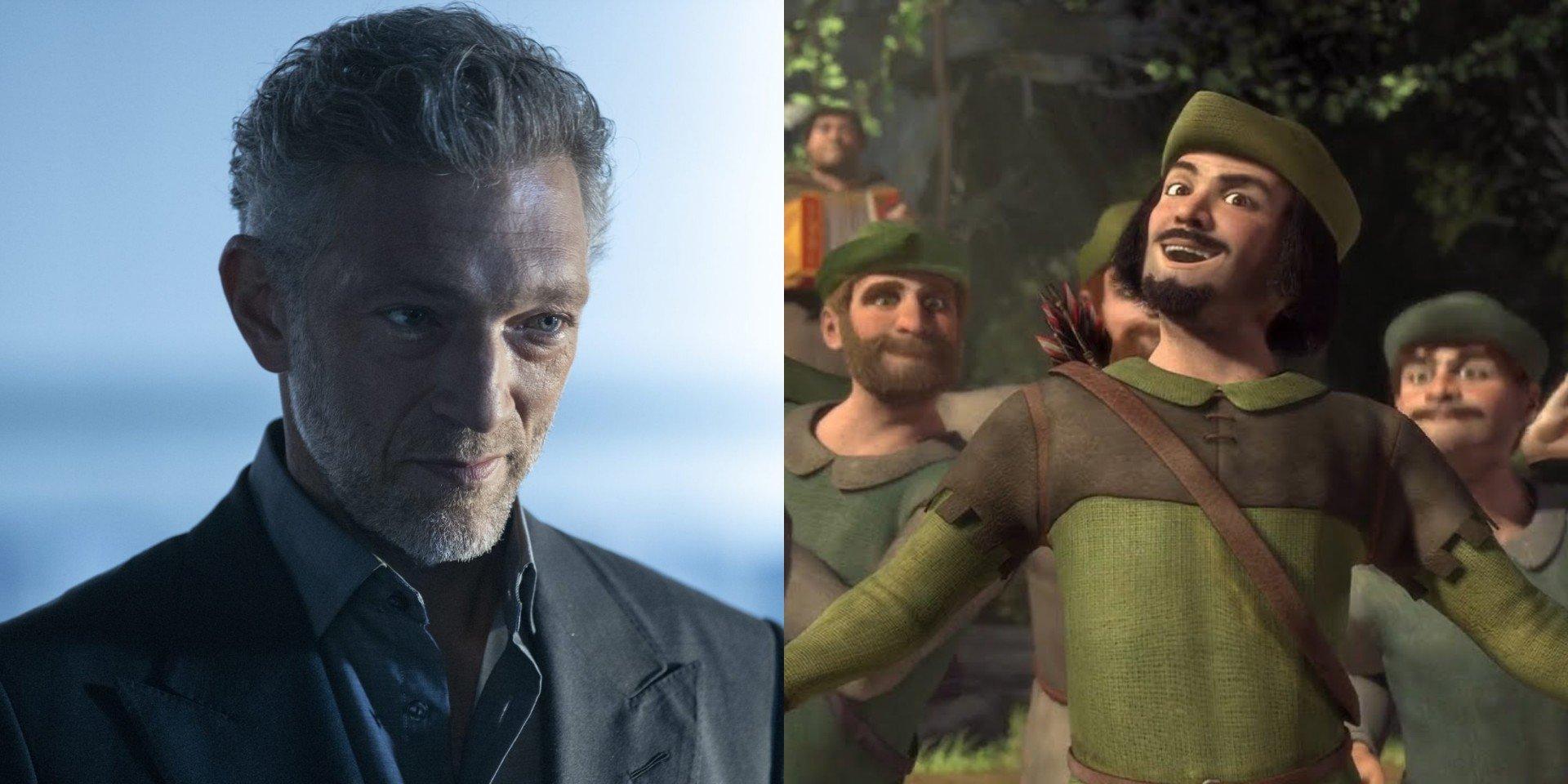 Vincent Cassell - Westworld/ Robin Hood from Shrek