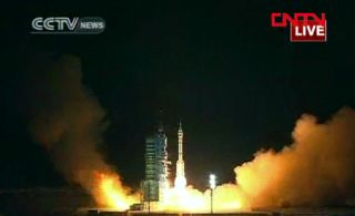 Shenzhou 8 launch