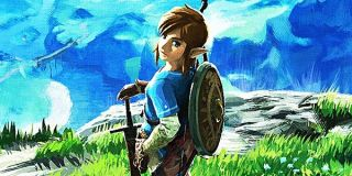 Artwork of Link from Breath of the Wild.