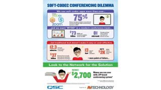 Soft-Codec Conferencing Dilemma