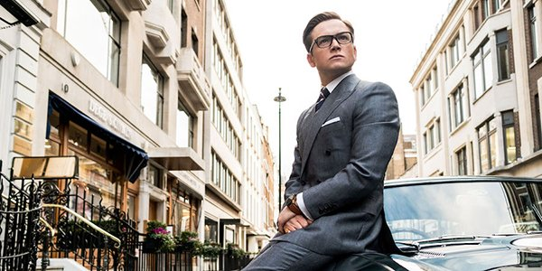 Eggsy proving clothes maketh man in Kingsman: The Golden Circle
