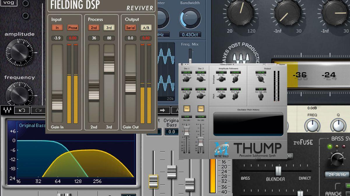 10 of the best vst au bass enhancement plugins musicradar. Black Bedroom Furniture Sets. Home Design Ideas