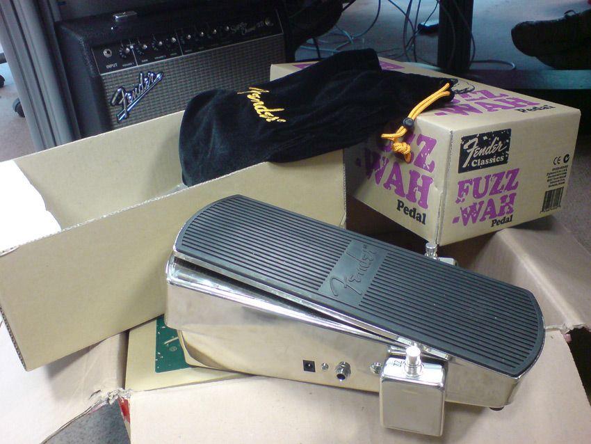 first look fender fuzz wah pedal musicradar. Black Bedroom Furniture Sets. Home Design Ideas