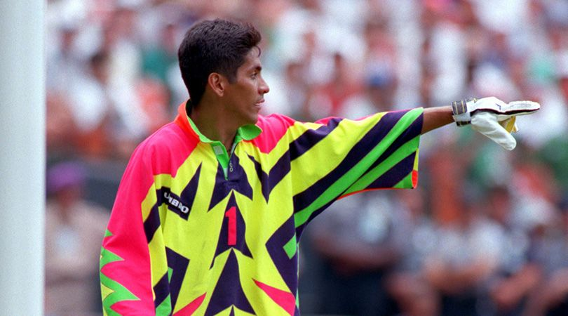 Jorge Campos I Once Heard A Story That The Coach Thought About Playing Me Up Front At Usa 94 Fourfourtwo