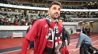 David Villa Vissel Kobe