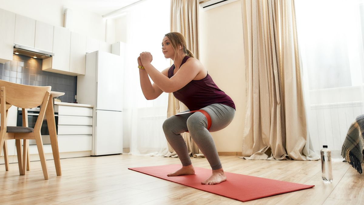 Get a full body workout with these resistance band exercises