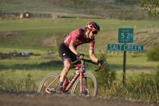Peter Stetina riding gravel race in 2021