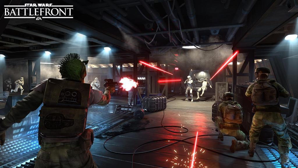 Here's your first look at a new Star Wars Battlefront mode
