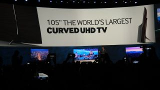 Bendy TVs ahead of the curve or twisted gimmick