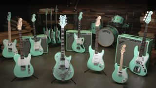 Fender's Masterbuilt Surf Green with Envy Collection