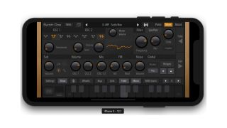 iPhone users can now download AudioKit's excellent Synth One