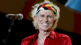 A picture of Keith Richards