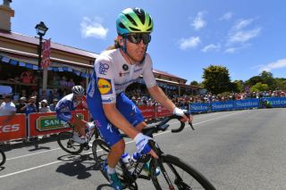 Deceuninck-QuickStep's Shane Archbold on stage 6 of the 2020 Tour Down Under
