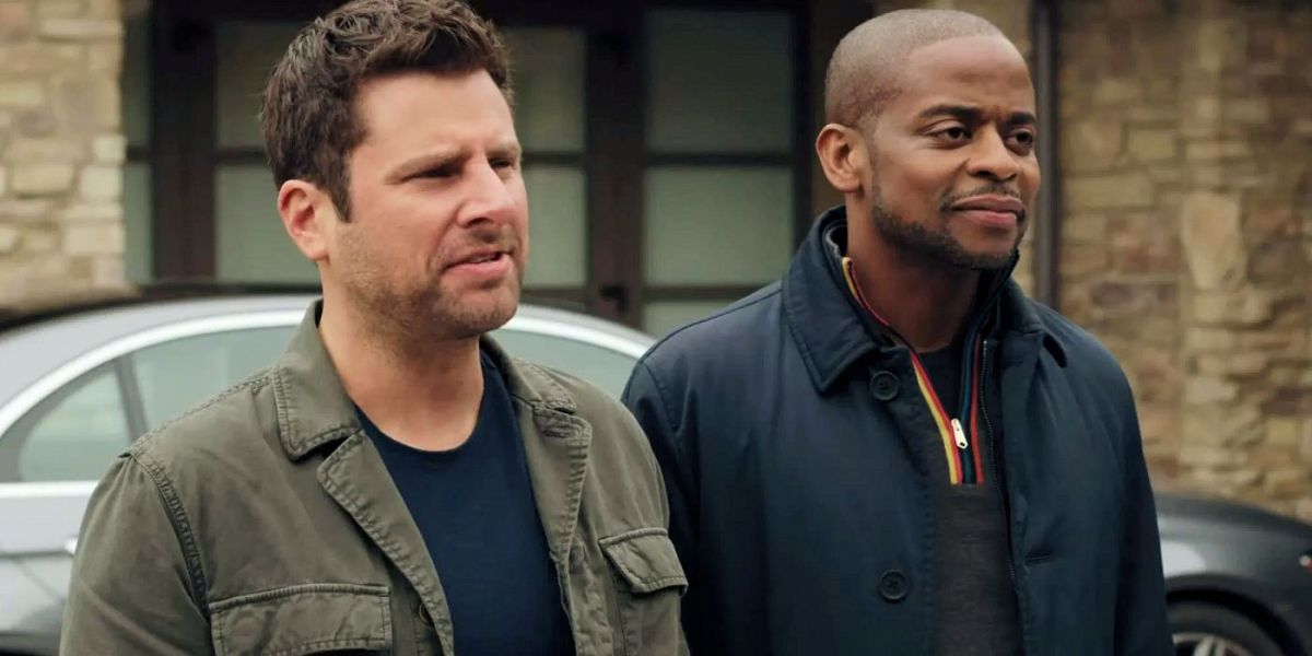 Shawn and Gus in Psych.