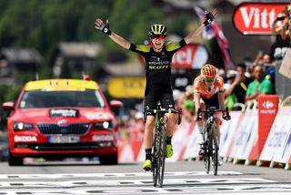 Annemiek van Vleuten (Mitchelton-Scott) wins La Course