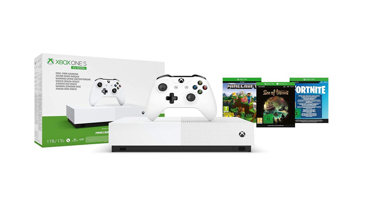 Steal alert: Xbox One S All-Digital bundle gets you a headset and