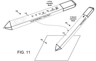 Microsoft's Surface Pen stylus could one day also be a Bluetooth earpiece