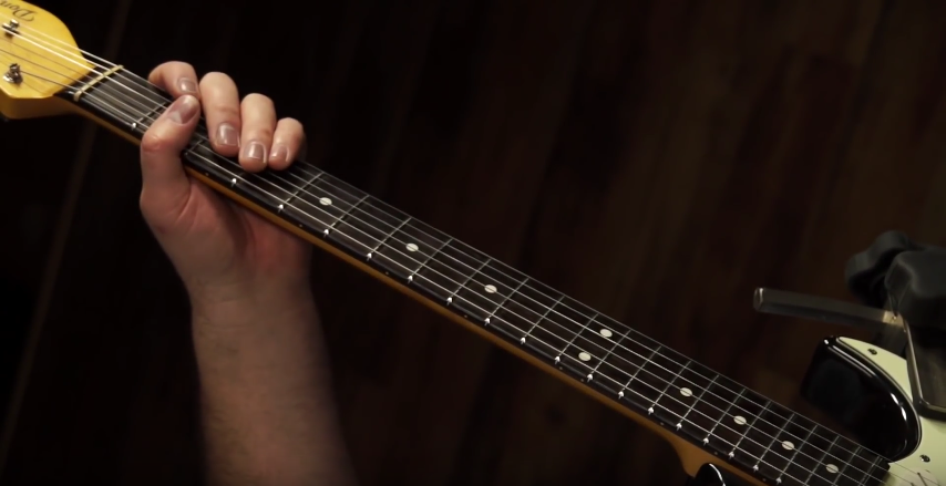 A Simple, Efficient Blues Picking Drill