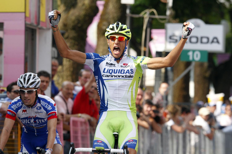 Eros Capecchi wins, Giro d
