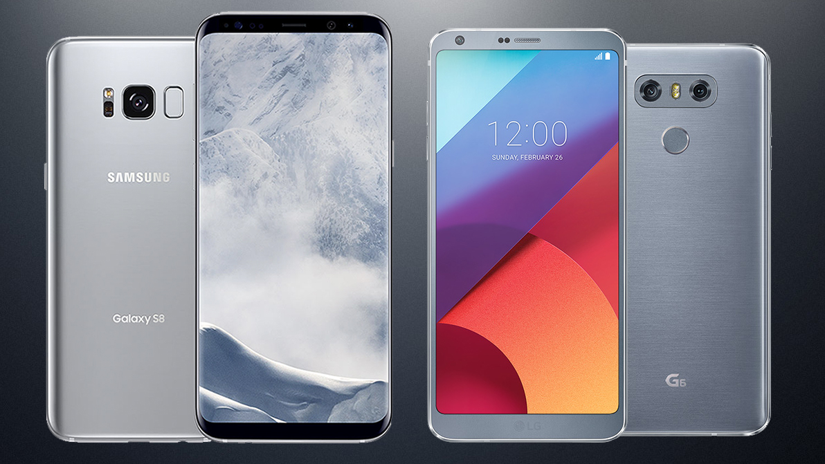 788e9e8380e Samsung Galaxy S8 vs LG G6: which Android phone is better? | TechRadar