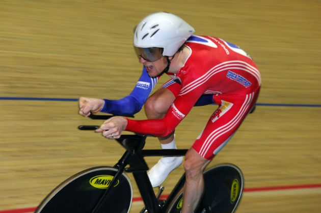 Bradley Wiggins worlds pursuit 2008