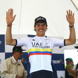 Colombian under-23 champion Daniel Arroyave