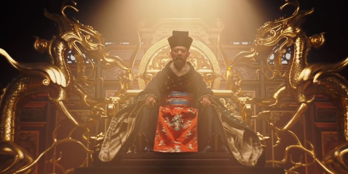 Jet Li as the Emperor Mulan