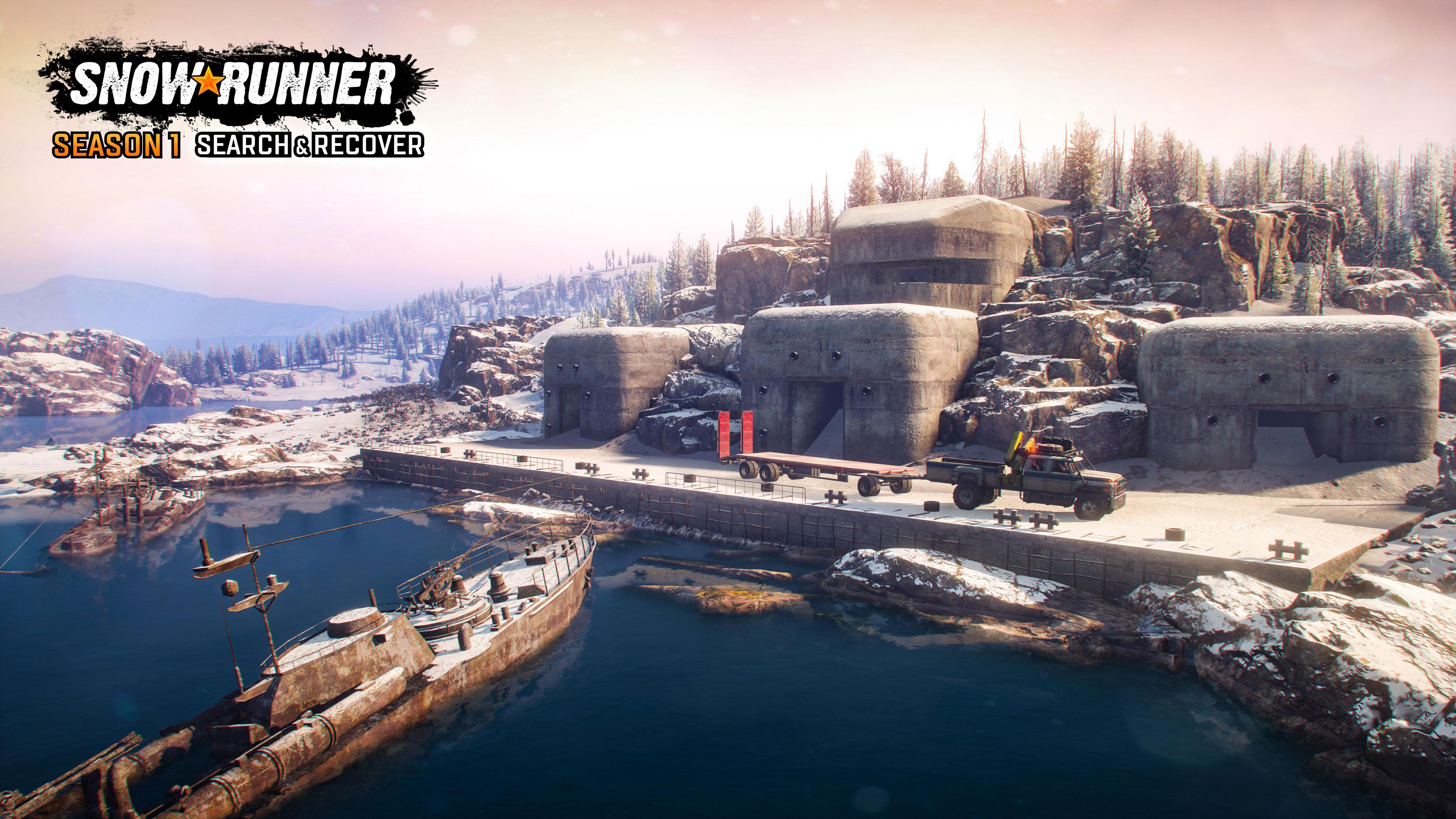 SnowRunner suma nuevos mapas y vehículos para tareas de búsqueda y rescate 4