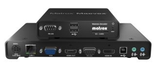 New API for Matrox Maevex PowerStream