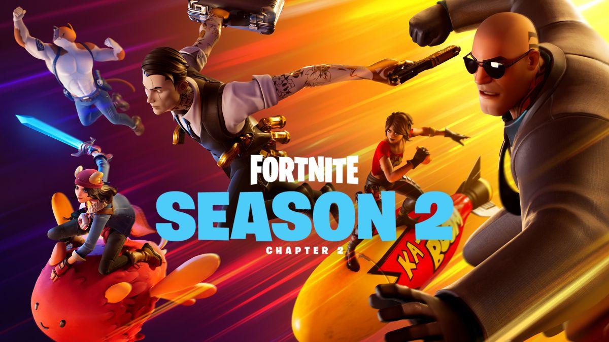Fortnite season 2 end date already confirmed by Epic Games - GamesRadar