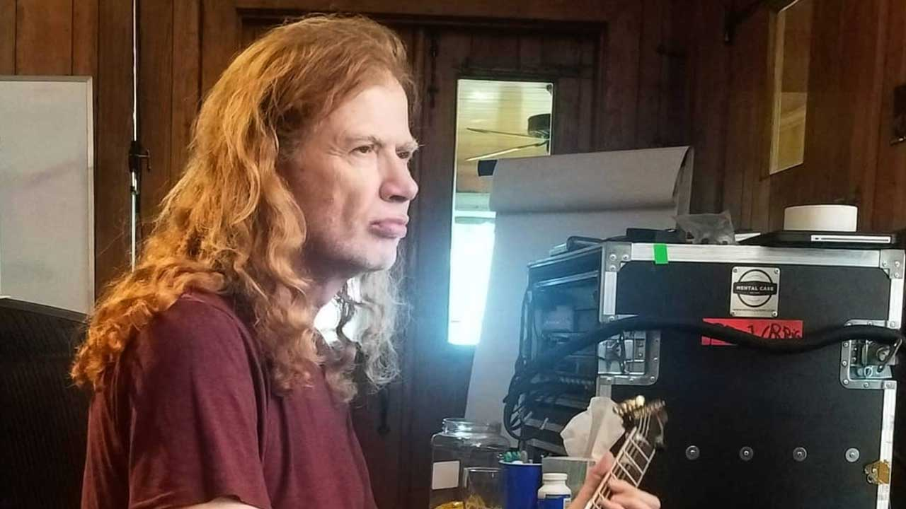 Megadeth's Dave Mustaine back in studio | Louder