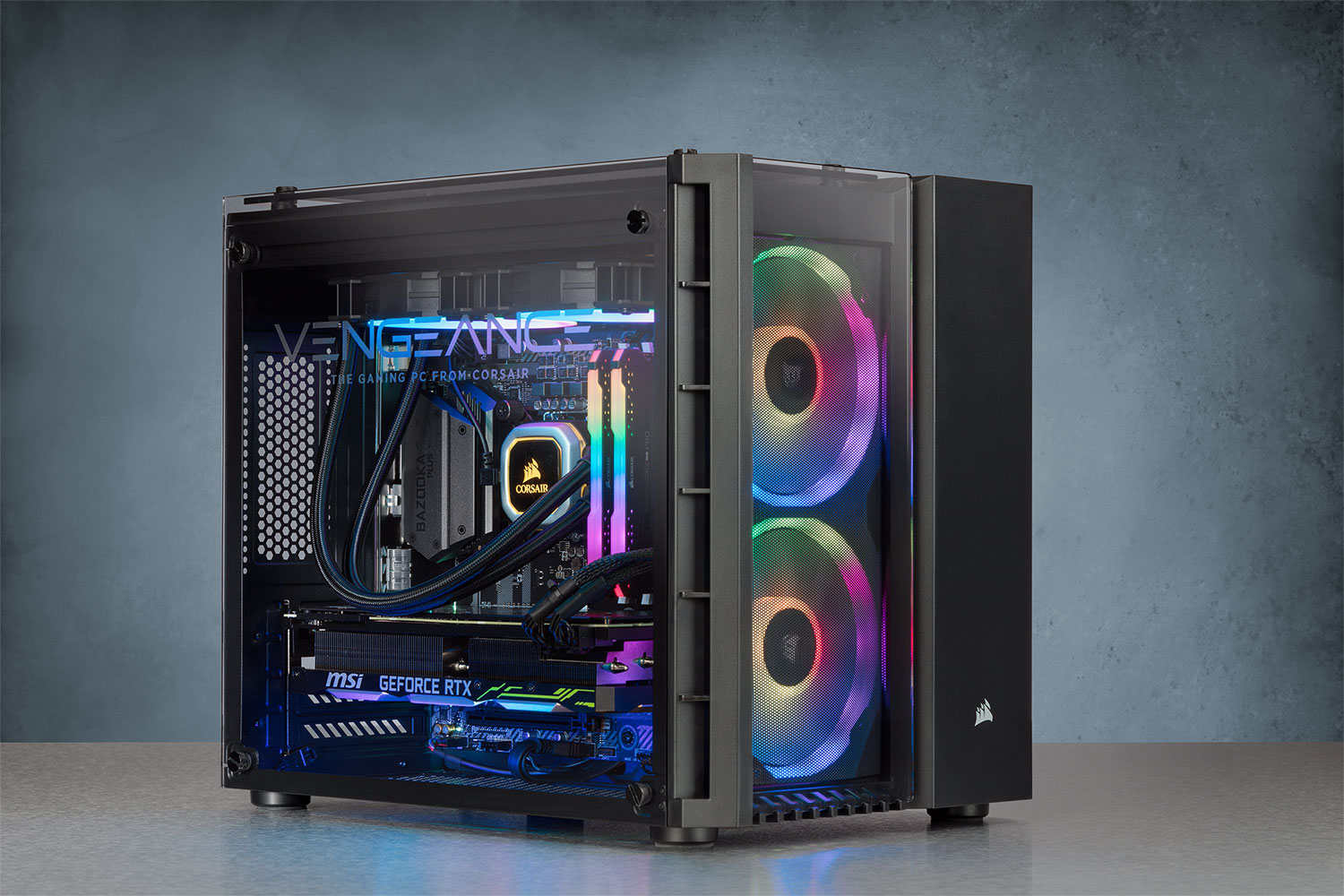 Corsair's new gaming PC wields a GeForce RTX 2080 and costs